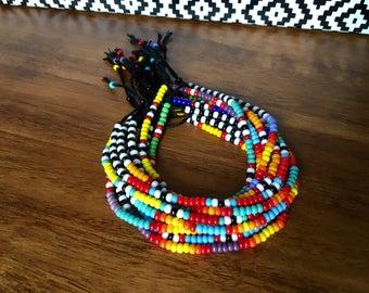 Seed bead bracelet, southwest bracelet, tribal beaded bracelet, festival bracelet, boho bracelet, desert bracelet, native american bracelet