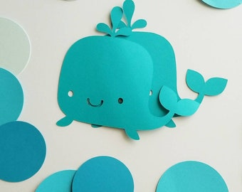 WHALE CUT OUTS