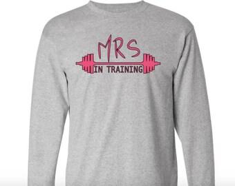 Mrs In Training Long Sleeve T-shirt