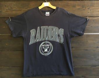Vintage 90's Raiders Tee
