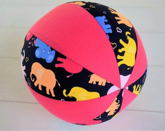 Balloon Ball Baby, Balloon Cover, Balloon Ball, Ball, Kids, Elephants, Blue, Pink , Portable Ball, Travel Toy, Travel, Eumundi Kids, Eumundi