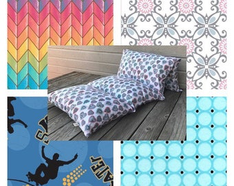 Novelty Pillow Beds - 3 Sizes; Over 50 Patterns to Choose From!