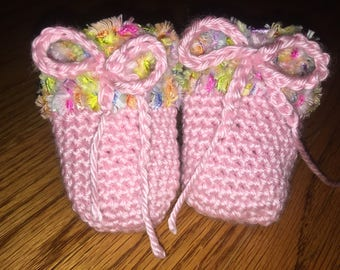 Crochet Infant Mittens