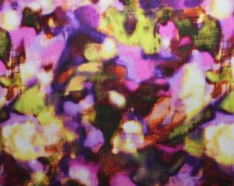 Tie dye Lycra/Spandex 4 way stretch Finish Fabric