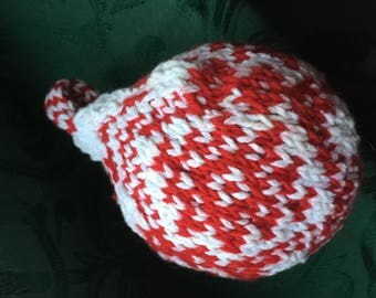 Nordic patterned Christmas ball