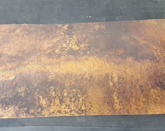 "Copper sheet  15"" x 28 3/8"""