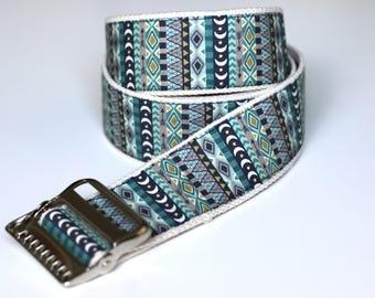 "High Quality Custom Gait Belt and Badge Reel ""The Cooper"""