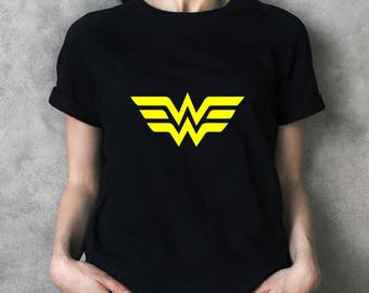 Wonder Woman Black T-Shirt  - JM8006197
