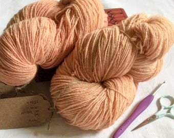 Shrimp: 4ply pure lambswool
