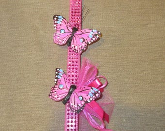 Butterfly Duo Easter Candle/Lambada