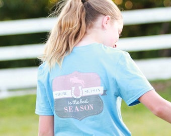 Equestrian t-shirt | Horse t-shirt | Equestrian Roots | Show Season | Hunter Jumper | Ring Spun Cotton | Equestrian Roots | Eventing | Rodeo