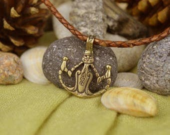 "Druid talisman ""Mystic bird"". Shaman Withces Irish Mystic Amulet. Celtic Jewelry. Nordic Sacred Symbol. Nothern Britan Talisman."