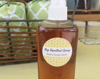 Natural Bug Repellent Spray