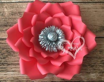 SVG Flower Template 86, DIY paper flowers, flower templates