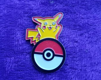 I Choose You Pikachu Hat Pin