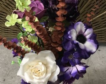 Purple Flowers Galore - Floral Arrangement