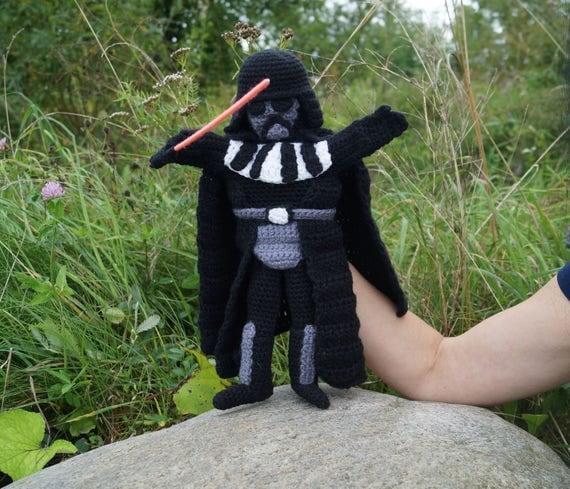 Darth Vader Hand Puppet Pattern