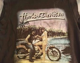 3d emblem Corp Harley Davidson shirt