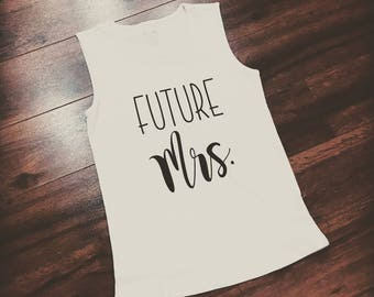 Future Mrs. Women's tee/tank