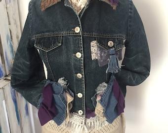 Revisited jeans jacket