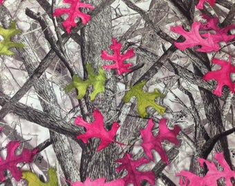"True Timber ""Sassy B"" Camo  Cotton Twill Fabric"