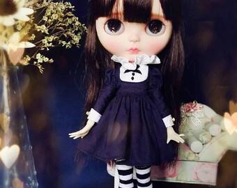 Pre-owned ooak custom blythe doll- Lorshek molseh