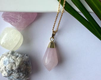 Chaine Quartz pink women