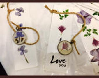 Unique Floral Creations Bookmarks Pendants