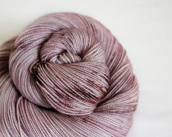 Blackberry Mousse - Gosling - 80/10/10 superwash merino/ cashmere/ nylon sock yarn