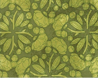 Light Green Pinwheels from the Blushing Peonies collection by Robin Pickens for Moda Fabrics, Choose the Cut, Peony