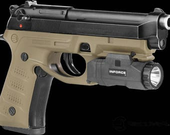 Recover Tactical Beretta Grip & Rail System BC2  TAN  (color has different shade due to lighting in pictures)