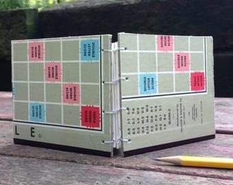 Scrabble Board Unlined Notepad/Sketchpad