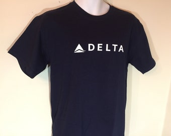 DELTA AIRLINES -T-Shirt Adult M    t