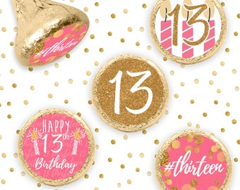 13th birthday etsy for 13th birthday decoration ideas