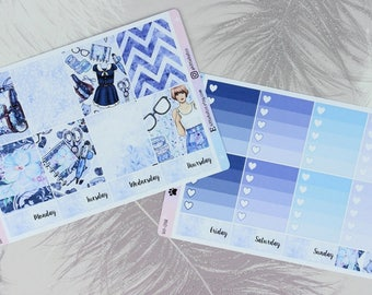 W018 - Pretty Planning Weekly Kit Stickers