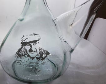 Custom Wine Porro-engraved with photo