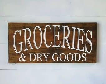 Groceries & Dry Goods