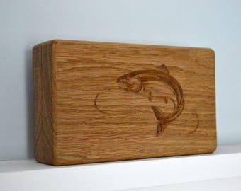 Fly Fishing Box, Fishing Fly Case, Fly Fishing Lure Case, Lure Box, Lure Case, Fly Case, Personalised Fishing Gift, Gift for Him, Fisherman
