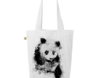 Panda - jute bag