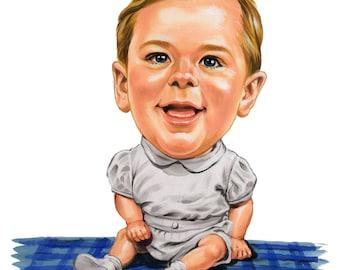 Custom Kid Caricature