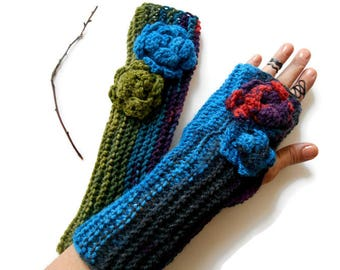 Knit Fingerless, Women Fingerless, Gloves Women, Winter Gloves, handmade Glove, Knit Gloves, Arm Warmer, Women gifts, Birthday Gifts