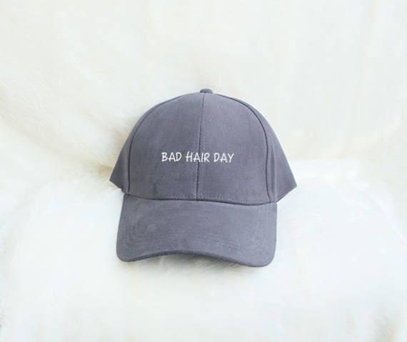 bad hair day baseball hat embroidered caps hipster fashion cotton hats for men wholesale china sold in bulk