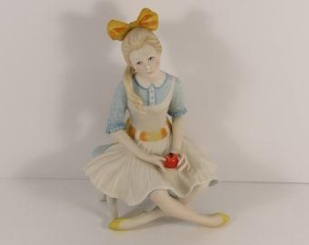 "Vintage Cybis Porcelain Art Studio ""Pollyanna"" Figurine."