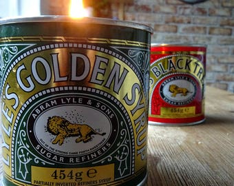 Syrup Tin Natural Soy Kitchen Candle - Bake Off - Baking - Kitchen
