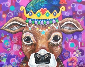 Queen Molly - original painting