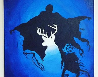 Customized Dementor and Patronus Painting
