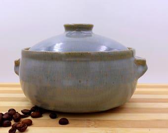 Personal Casserole - casserole - hand made casserole -lidded bowl
