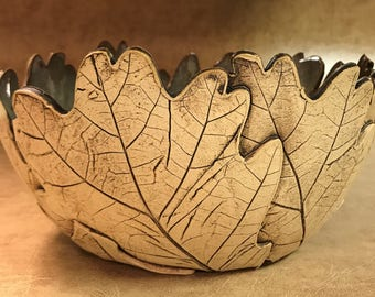 Large Oak Leaf Bowl 164