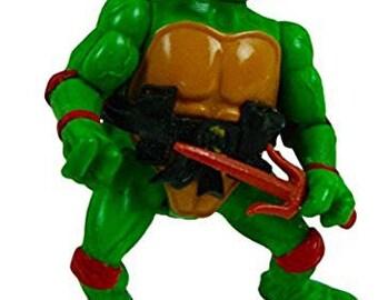 Teenage Mutant Ninja Turtles (TMNT) Series 1 Raphael 4.5 Inch Action Figure (C-6)