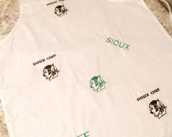 University of North Dakota Fighting Sioux One of a kind limited edition sioux und apron fighting sioux present barbecue. UND forever sioux